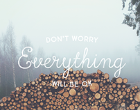 Don't Worry Wallpaper
