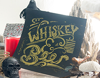 Whiskey and Beer : Block Printing