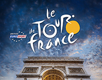 Idea Poster Photo Manipulation Poster Le Tour de France