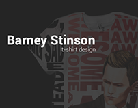 Barney Stinson T-Shirt Design