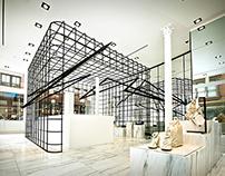 Alexander Wang - Geometric Lighting Installation