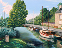 Au bord de la Vilaine