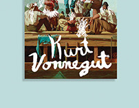 Kurt Vonnegut Book Cover Series
