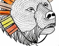 """I am a lion, not a bear."" Illustration"