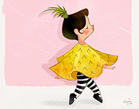 Pineapple Girl