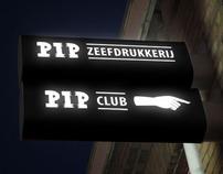 PIP logo & signage