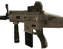Fn-Scar-H new texturing
