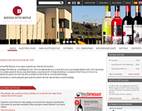 Otto Bestué - Winery WebSite