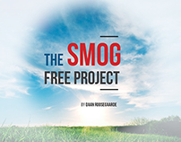 SMOG FREE Project for Studio Roosegaarde, Netherlands