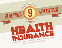 More Expensive Than Health Insurance (Infographic)