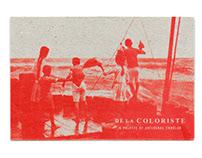 De la Coloriste - Postcard Design
