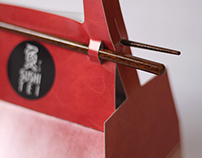 Sushi Tei Packaging