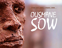 Ousmane Sow : reproduction d'un catalogue d'exposition.