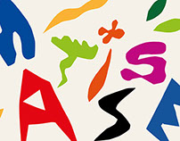 Henri Matisse in typography