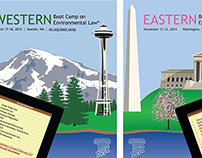 ILLUSTRATED AD SERIES: East/West Boot Camp