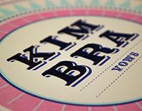 Vinyl Redesign – Kimbra's, Vows