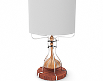 lamp pumpkin