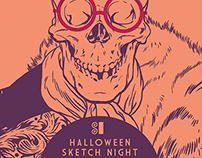 SI Halloween Sketch Night
