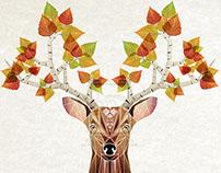deer autumn
