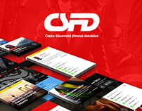CSFD Website Redesign Concept