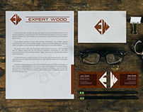Expert Wood - Logo & Identity