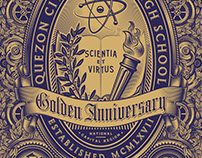QueSci Golden Anniversary book cover