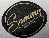 Identidad para Sammy - Coffee & Crepres (Calí)