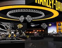 HARLEY DAVIDSON - AUTO EXPO EXHIBITION STALL DESIGN.