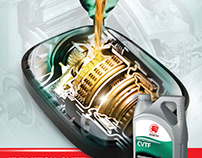 Idemitsu poster for gear oil