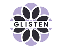 Glisten: Logo Design & Poster Designs