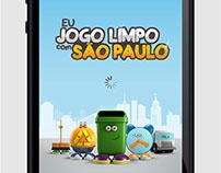 Eu Jogo Llimpo com São Paulo | App