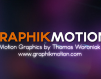 Graphik Motion - Motion Graphics by Thomas Woroniak