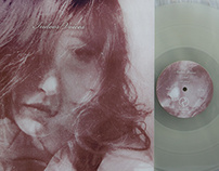 """Indoor Voices """"S/T"""" LP Packaging Design"""