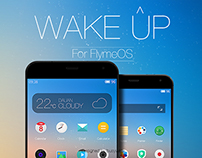 wakeup fo flymeos design