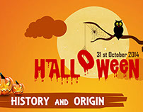 Halloween Facts and History Infographic
