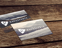 Rautaparta logo & business cards