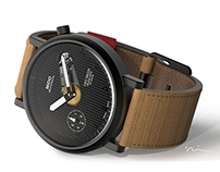 Cafe Racer Mechanical Watch
