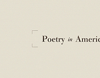 Poetry in America Series Title Card