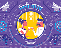 Absolut Bioscope: India in a Bottle