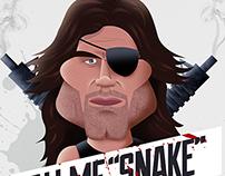 """Kurt Russell / Snake Plissken - Call Me """"Snake"""""""