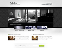 Per Diem Suites - Web Design