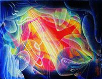 Seres creadores, arte abstracto contemporáneo 2014