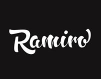 Lettering Ramiro