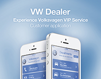 VW Dealer Customer Application