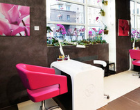 Ives Rocher beauty salon, Moscow, 2011