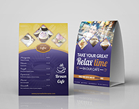 Cafe and Restaurant Table Tent Vol.3