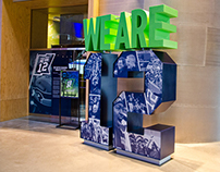 We Are 12 Exhibit Design