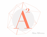 A-squared logo animation