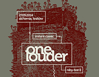 One Louder Fest poster