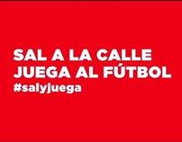 COCACOLA FUTBOL CALLE METRO MADRID
